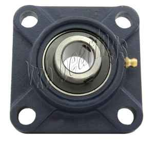 "UCF201-8 Four Bolt Flange Unit 1/2"" Inner Diameter:vxb:Ball Bearing"