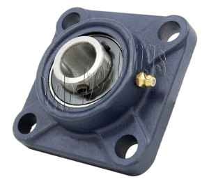 35mm Mounted Bearing UCF207 + Square Flanged Cast Housing:vxb:Ball Bearings