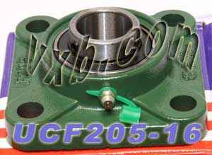 UCF205-16 Four Bolt Flange Unit 1 Inner Diameter:vxb:Ball Bearing