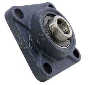 "UCF206-20 Four Bolt Flange Unit 1 1/4"" Inner Diameter:vxb:Ball Bearing"