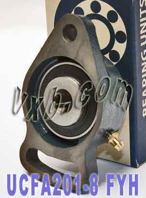 "1/2"" Take Up Mounted Bearing UCFA201-8:vxb:Ball Bearing"