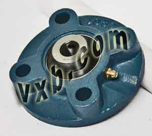 "1/2"" Flange Cartridge Unit UCFC201-8:vxb:Ball Bearing"
