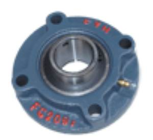 "1-1/8"" Round flanged Mounted Bearing UCFC206-18:vxb:Ball Bearing"