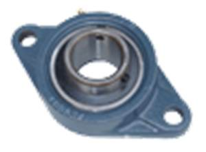 "3 1/2"" UCFL318-56 Mounted Bearing Pillow Block Cast Housing:vxb:Ball Bearing"