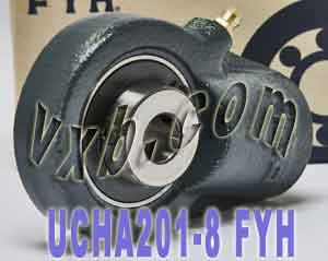 "1/2"" Hanger type Bearing UCHA201-8:vxb:Ball Bearing"