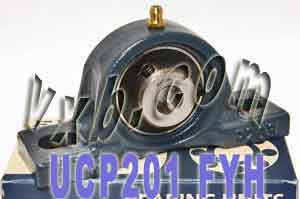 12mm Mounted Bearing UCP201 + Pillow Block Cast Housing:vxb:Ball Bearing