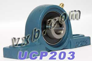 17mm UCP203 Pillow Block Bearing:vxb:Ball Bearing