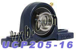 "1"" inch UCP205-16 Pillow Block Bearing:vxb:Ball Bearing"