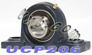 30mm UCP206 Pillow Block Bearing:vxb:Ball Bearing