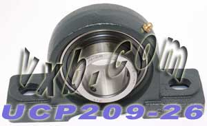 "1 5/8"" inch UCP209-26 Pillow Block Mounted Bearing:vxb:Ball Bearing"