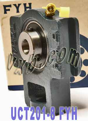 "1/2"" Take Up Mounted Bearing UCT201-8:vxb:Ball Bearing"