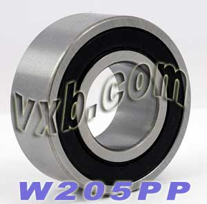 "W205PP Bearing 25x52x13/16"" Sealed:vxb:Ball Bearing"