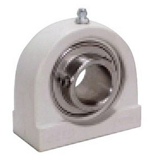ZUCPAS204-20m-PBT Thermoplastic Zinc Chromate Plated Tapped Base Pillow Block Bearing:20mm inner diameter:Ball Bearing